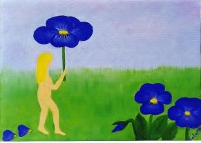 Under blommors